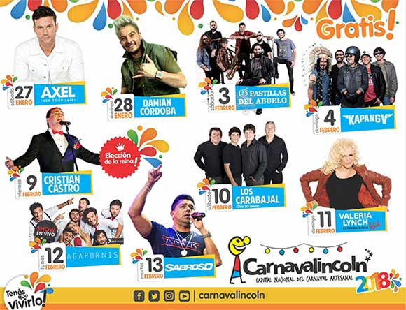 shows carnaval lincoln